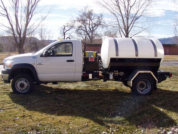 Cab-Over Spray Truck