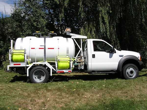 Cab-Over Spray Trucks