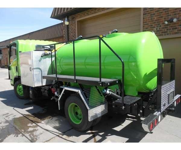 Custom Cab-Over Spray Truck