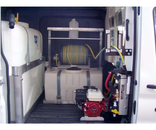 Custom Spray Van